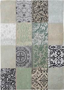 Louis De Poortere : louis de poortere rug vintage ardennes green 8751 patchwork multi design luxury rug shop uk ~ Frokenaadalensverden.com Haus und Dekorationen
