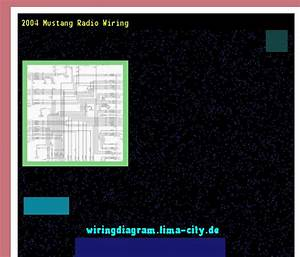 2004 Mustang Radio Wiring  Wiring Diagram 175335