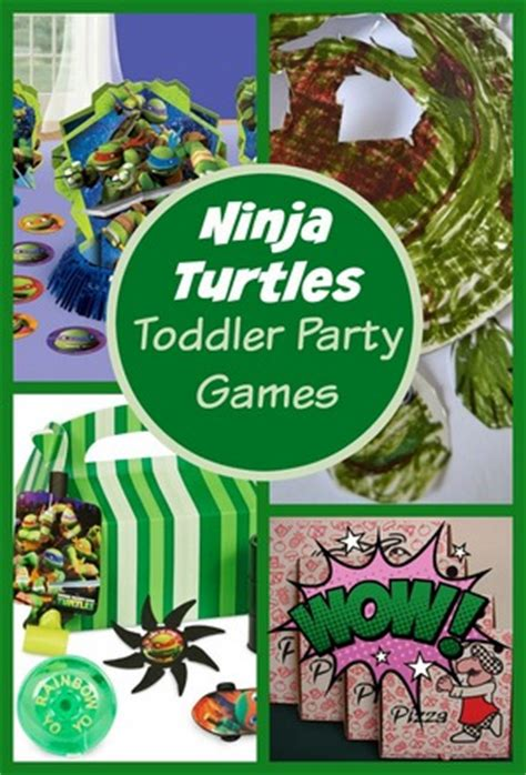 turtle for toddlers my guide 594 | Ninja Turtles Toddler Party Games featured