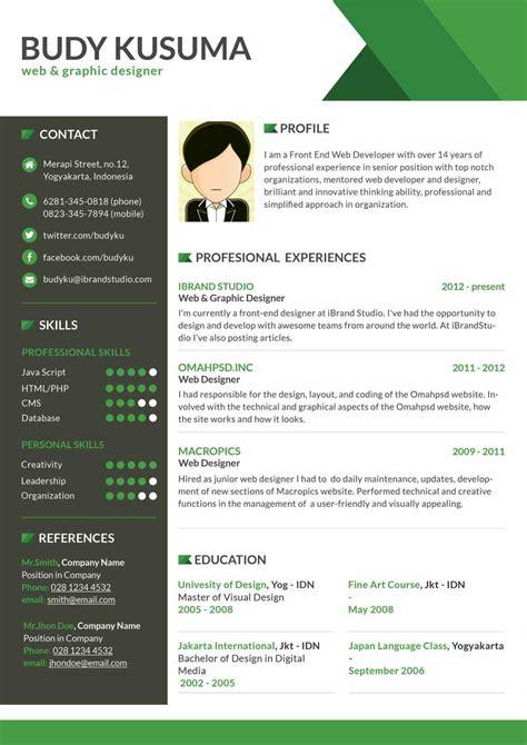 unique resume exles microsoft word resume template 1