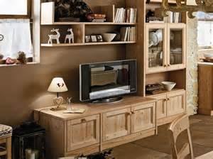 Arredamenti rustici per la zona giorno mobili soggiorno