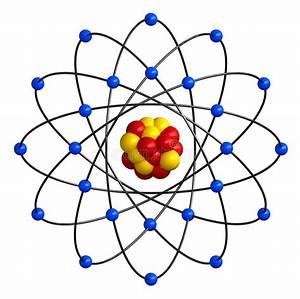 Atomic Structure Stock Illustration  Illustration Of