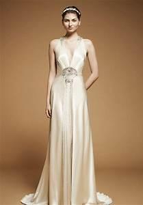art deco gowns jenny packham 2012 deco weddings With deco wedding dress