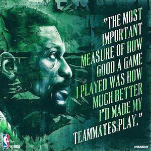 """""""The Most ... Bill Russell Basketball Quotes"""