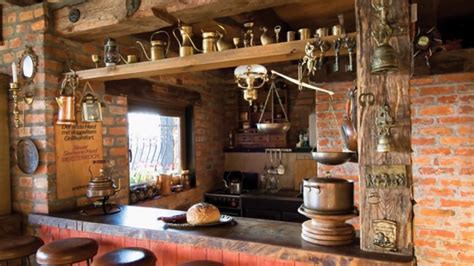 decoracion rustica de cocinas  admirar  como ideas