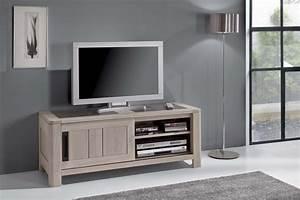 Meuble Tv Petit : petit meuble tv en ch ne massif de france meubles turone ~ Teatrodelosmanantiales.com Idées de Décoration