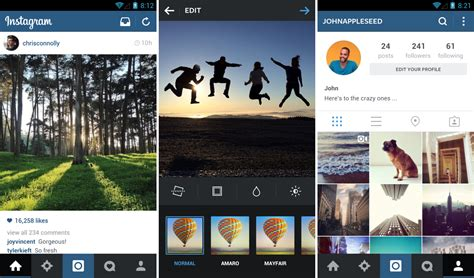 instagram app android instagram receives a new update brings a refreshed user