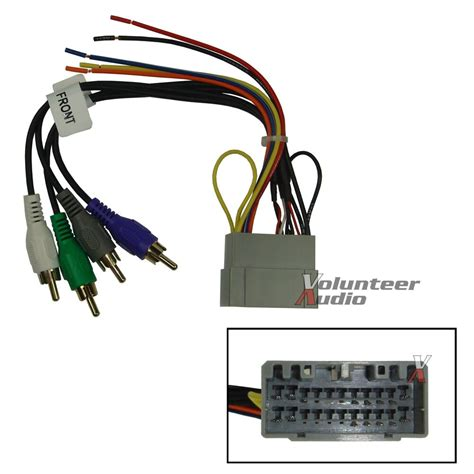 91 Jeep Wire Harnes by Dodge Jeep Car Stereo Cd Player Wiring Harness Wire