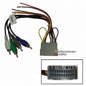 Dodge Jeep Car Stereo Cd Player Wiring Harness Wire Wiring Diagram