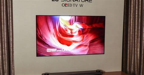 Lg Wallpaper Oled Tv Costs $8,000, Available For Preorder