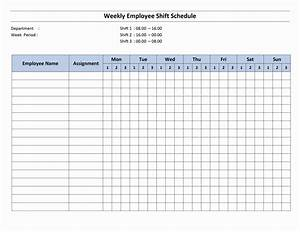 free monthly work schedule template weekly employee 8 With monthly staffing schedule template