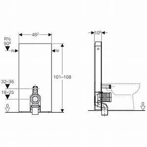 Geberit Monolith Wc : geberit monolith sanit rmodul f r stand wc 101 cm mit p anschlussbogen wasseranschluss ~ Frokenaadalensverden.com Haus und Dekorationen