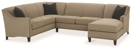 chaise 3 en 1 rowe rockford traditional 3 sectional with chaise darvin furniture sofa sectional
