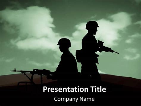 army war powerpoint templates army war  backgrounds