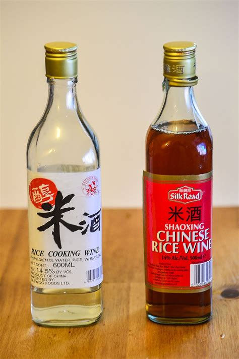rice wine how to use chinese rice wines in cooking