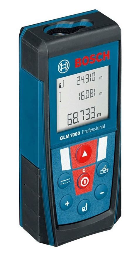 new bosch glm7000 laser distance measurer meter 70 meters