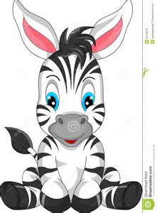 Cute Cartoon Zebra Drawings