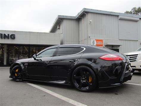 Porsche Panamera Tuning by One Porsche Panamera With Mansory Kit By Calwing