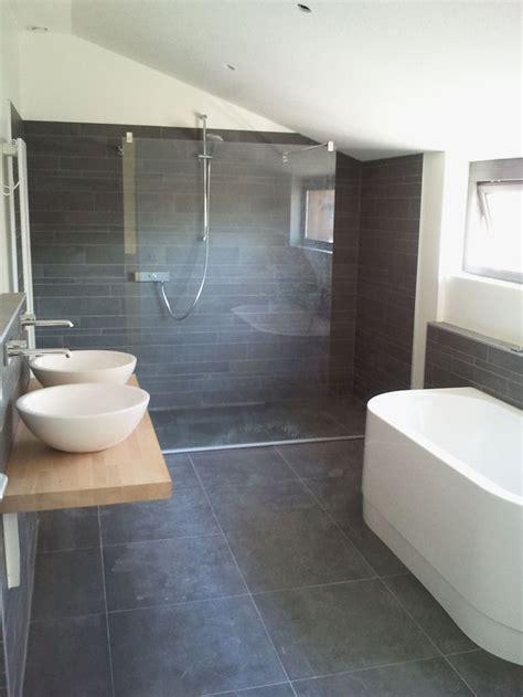 dark bathroom floor tile ideas    home