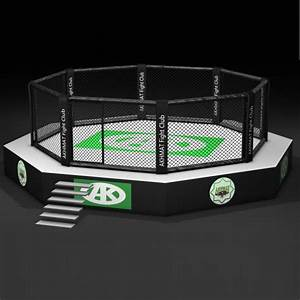 MMA Cage with Platform in Various Sizes - Fight Store IRELAND