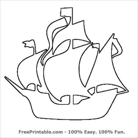 pirate ship stencil printable ocean pumpkin stencil
