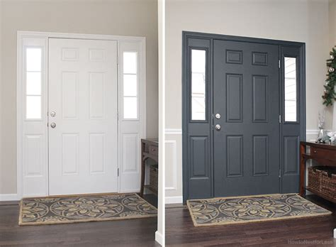 painting inside of front door painted interior front door giveaway how to nest for less