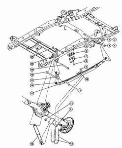 Dodge Ram 2500 Plate  Clip Mounting  Spring U