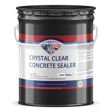 clear low gloss sealer 27 solids inc