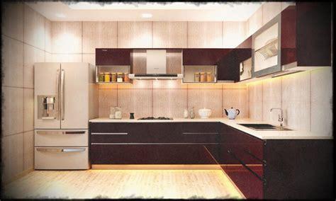 Excellent Brown And Wooden Simple Modern Kitchen Designs