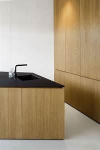 Meuble Cuisine Design : 1001 id es cuisine noir mat et bois l gance et sobri t ~ Teatrodelosmanantiales.com Idées de Décoration