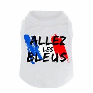T Shirt Bleu Blanc Rouge : t shirt blanc pour chien bleu blanc rouge canicaprice ~ Nature-et-papiers.com Idées de Décoration