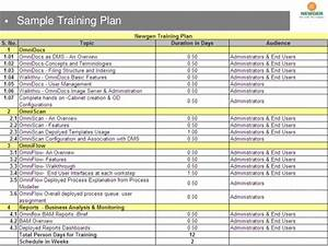 newgen banking ppt With end user training plan template