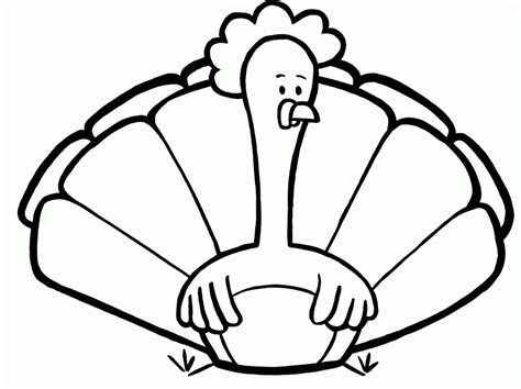 free turkey coloring pages for preschoolers turkey coloring pages printable for preschool coloring home 689