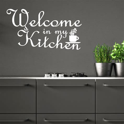 stickers citation cuisine sticker citation cuisine welcome in my kitchen stickers
