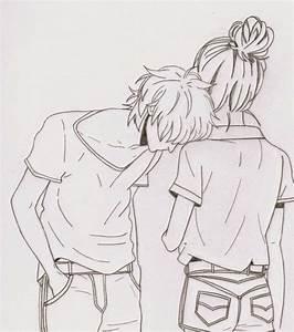Cute Couple Draw Tumblr Drawing Ideas Tumblr ...