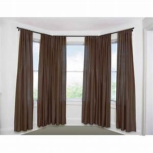 Decor: Classy Curtain Rods At Walmart To Decorate Your