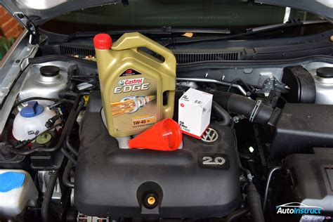 2.0l Engine Oil Change