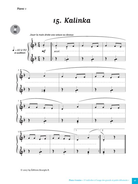 partition piano facile gratuite moderne partition piano gratuite facile
