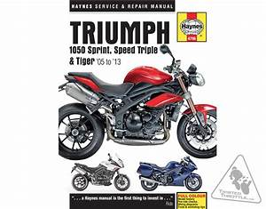 Haynes Repair Manual For Triumph Sprint St 1050  U0026 39 05