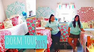 COLLEGE DORM TOUR 2015 Lilly Pulitzer Inspired YouTube