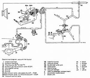 Mercedes Benz Vacuum Diagram