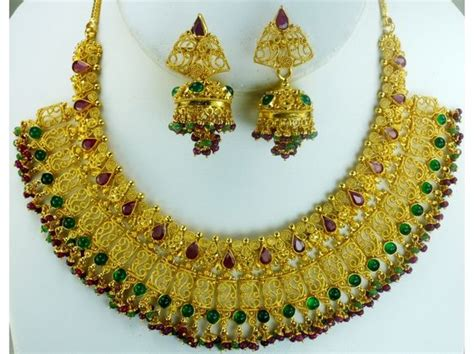 Antique Indian Bridal Jewellery Designs