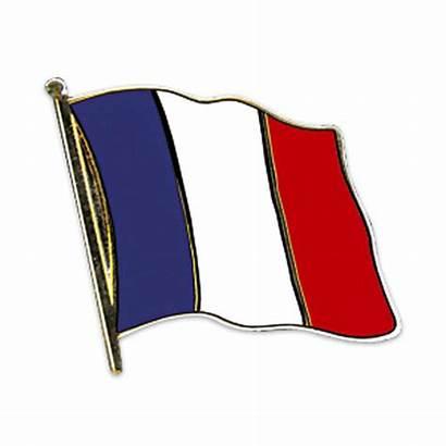 Frankreich Flaggen Flaggenpin Vergoldet Fransk Flagge Flag