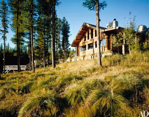liz claibornes house  montana architectural digest