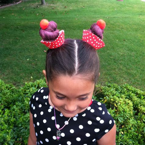 Crazy Hair Day Cupcakes My Tips Make The Buns Tall And