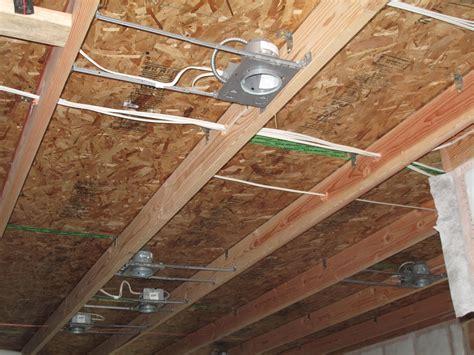 Running Wires Through Ceiling Joists Wwwenergywardennet