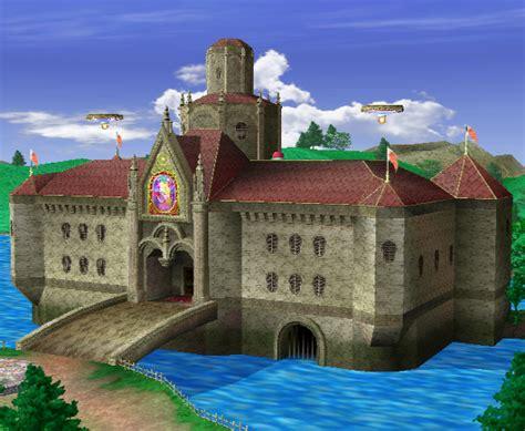 princess peachs castle super smash bros melee super