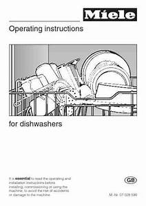 Miele G 975 Sc Dishwasher Download Manual For Free Now