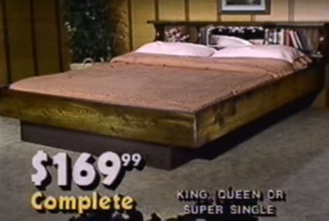this thinks the waterbed was a idea because he invented it like totally 80s