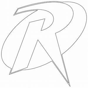 Robin Logo Outline by mr-droy on DeviantArt